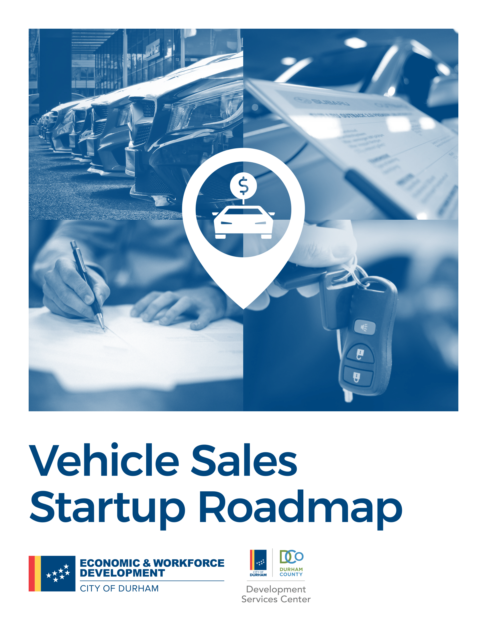 Vehicle Sales Startup Roadmap
